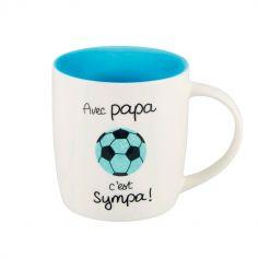 """Mug """"Avec Papa"""" - Derrière La Porte"""