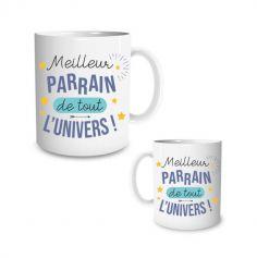 mug meilleur parrain| jourdefete.com