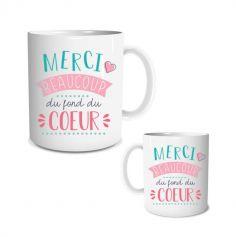 mug merci modele au choix | jourdefete.com