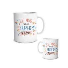 mug-super-niece-cadeau | jourdefete.com
