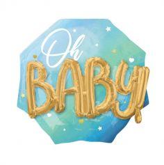 ballon-garcon-babyshower-bleu-3D|jourdefete.com