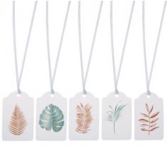 5 Étiquettes avec Ruban - Nature Addict | jourdefete.com
