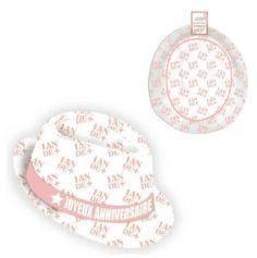 chapeau-anniversaire-rose-blanc|jourdefete.com