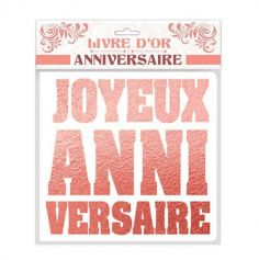 livre-or-rose-gold-anniversaire|jourdefete.com