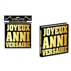 livre-dor-anniversaire-noir-gold|jourdefete.com