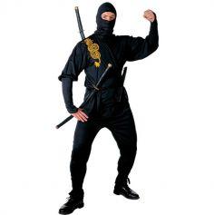 Costume de ninja adulte - Taille au choix