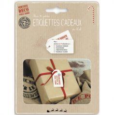 10 Étiquettes Cadeaux de Noël