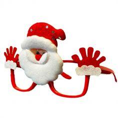 Lunettes en plastique de Père Noël