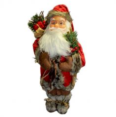 Père Noël à poser - 48 cm