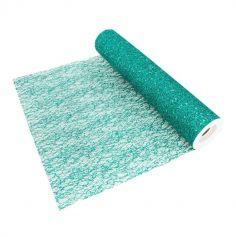 chemin-table-vert-foret-glitter|jourdefete.com