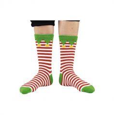 chaussettes-lutins-pere-noel-accessoires | jourdefete.com