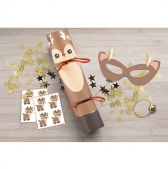 Boîte de 5 Crackers de Noël - Sweety Xmas
