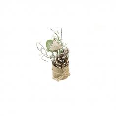 décoration de table hivernale pour noël | jourdefete.com