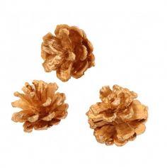 pommes de pin or mat | jourdefete.com