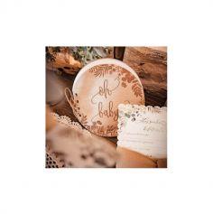 Livre d'Or en bois collection Oh Baby ! - 16 cm