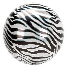 ballon orbz zèbre | jourdefete.com