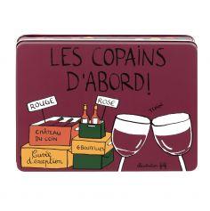 """Boîte à Vin Garnie """"Les Copains d'Abord"""" - Derrière La Porte"""