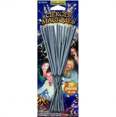 Blister de 20 cierges magiques - 18 cm
