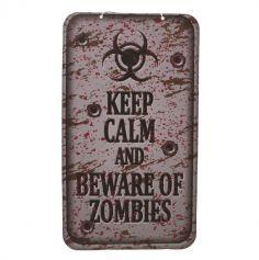 panneau-zombies-halloween-sang-poster-carton jourdefete.com