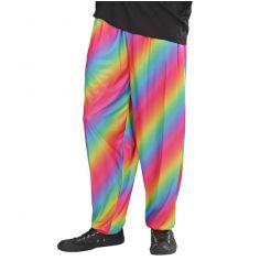 Pantalon Années 80 Arc-en-Ciel Homme