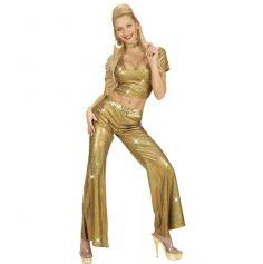 Pantalon Disco Or Femme