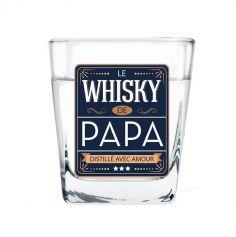 """Verre à Whisky """" Papa """""""