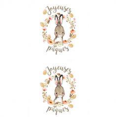 Chemin de Table Romance - Lapin -Pâques | jourdefete.com