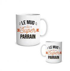 mug-super-parrain-cadeau | jourdefete.com