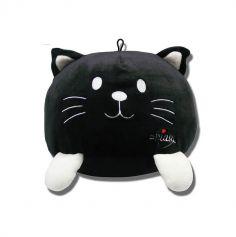 peluche miaou chat noir | jourdefete.com