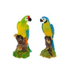 Petit Perroquet en Resine - Coloris au Choix | jourdefete.com