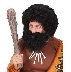 Perruque Barbe et Moustache Brune