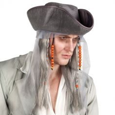 Perruque Pirate Fantôme