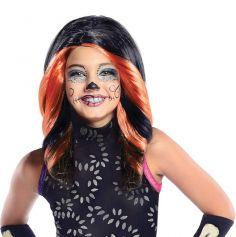 Perruque Monster High Skelita Calaveras Enfant