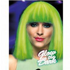 Perruque Phosphorescente Verte