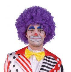 Perruque Clown Violette