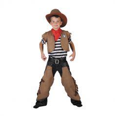Déguisement complet de cowboy pour Enfant - Taille au choix