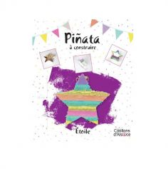 Piñata à construire - Etoile