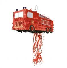 pinata anniversaire camion de pompiers | jourdefete.com