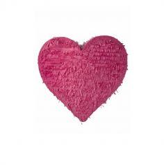 pinata grand coeur rose | jourdefete.com