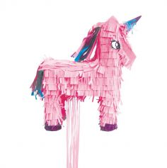 pinata licorne rose anniversaire | jourdefete.com