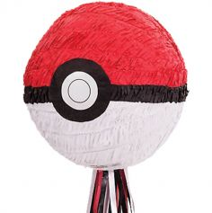 Piñata Pokeball à Tirer - Pokemon Core | jourdefete.com