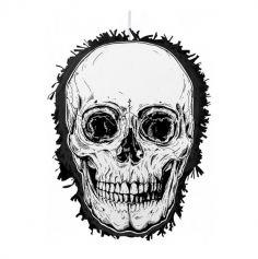 pinata halloween tete de mort | jourdefete.com