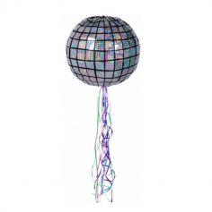 pinata a tirer boule disco 30 cm | jourdefete.com