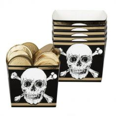coupelles-crane-halloween-anniversaire-pirate | jourdefete.com