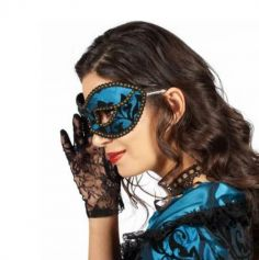 Loup Baroque - Bleu - Femme