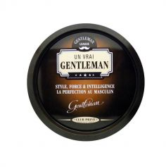 plateau en métal de la collection gentleman | jourdefete.com