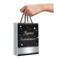 Pochette-Cadeau-Joyeux-Anniversaire-Argentée|jourdefete.com