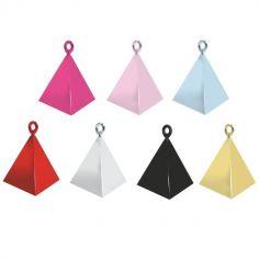 Poids à Ballon Pyramide - Couleur au Choix | jourdefete.com