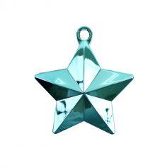 Poids à ballon - Etoile bleue turquoise