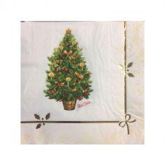 Lot de 16 serviettes en papier - Magic Christmas - 33 x 33 cm